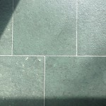 Bluestone slate tile stripping and sealant application
