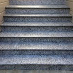 Staircase granite cleaning and sealant application