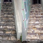Staircase natural stone cleaning and sealant application