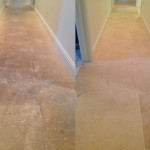 Natural stone tile cleaning and sealing