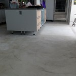 Concrete sealing before